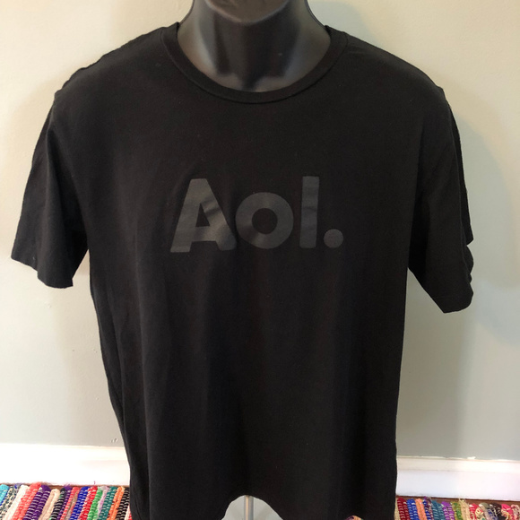 Vintage Other - 90s AOL America Online Shirt Dial Up Internet